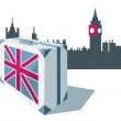 Great Britain_travels — Stock Vector
