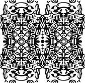 Aztec, psychedelic — Stock Vector