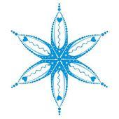 程式化的星级,卦 — 图库矢量图片