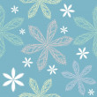Royalty-Free Stock Vectorielle: Flower seamless pattern
