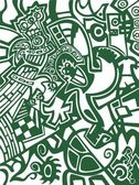Abstract wallpaper, football soccer — Stock Vector