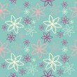 Royalty-Free Stock Vektorfiler: Flower seamless pattern
