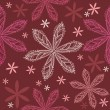 Royalty-Free Stock ベクターイメージ: Flower seamless pattern