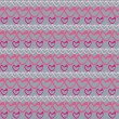 romantische seamless pattern with hearts — Stockvektor  #2222662
