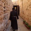 Jerusalem old city streets - Stock Photo