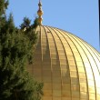 Stock Photo: Gold Dome of the rock