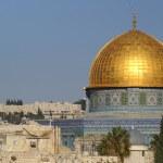 Jerusalem old city - dome of the rock — Stock Photo
