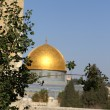 Gold Dome of the rock — Stock Photo #1268236