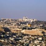 Jerusalem old city temple mount — Stock Photo #1268287