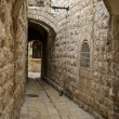 A street in the old city jerusalem — Stock Photo #1268305