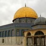 Jerusalem old city - dome of the rock — Stock Photo #1268323