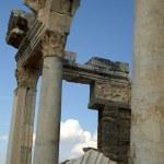 Greek and roman ruins — Stock Photo
