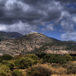 Golang heights landscape in israel — Stock Photo