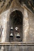 Bells in a Jerusalem holy church — Stock Photo