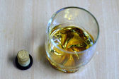 Cognac or Whisky glass — Stock Photo