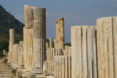 Ancient ruins in Ephesus — Stock Photo