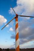 Turbiny wiatrowe w Izraelu — Zdjęcie stockowe