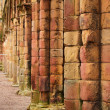 Stock Photo: Jedburgh abbey - tourists attraction
