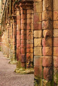Jedburgh abbey - tourists attraction — Stock Photo