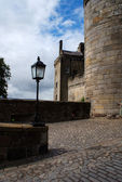 Stirling castle - tourists attraction — Stock Photo
