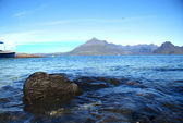 Skye island sea landscape — Stock Photo