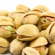 Heap of Pistachios isolated — Stock Photo