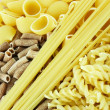 Royalty-Free Stock Photo: Several kinds of macaroni