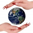 Earth in Hands — Stock Photo #2567069