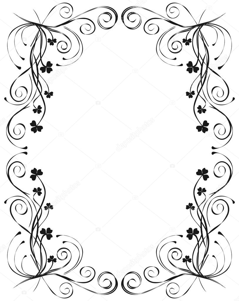 floral frame for design vector � stock vector 169 natalia