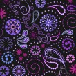Royalty-Free Stock Vector Image: Seamless paisley background