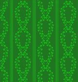 Groene bloemen achtergrond — Stockvector