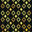 Royalty-Free Stock Vektorfiler: Elegant vector black and gold background