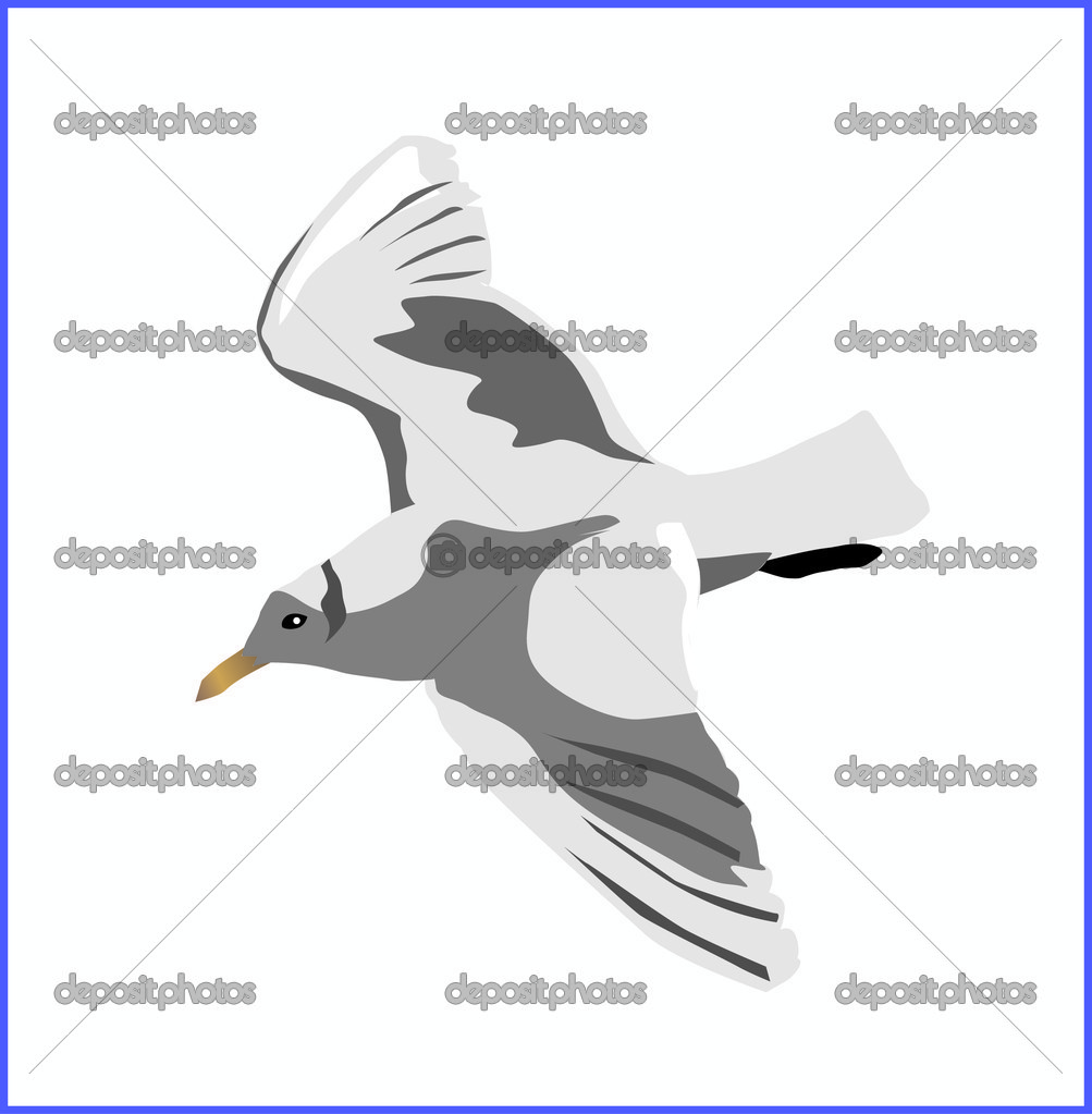 Vector flying bird — Stock Vector #2605433