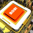 Stock Photo: Sos