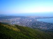 Sea town — Stock Photo