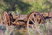 Wooden Wagon C — Stock Photo