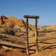 Ranch Gate A — Stock Photo