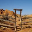 Ranch Gate A — Stock Photo #2338970