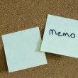 Sticky notes — Stock Photo #1290260