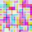 Vivid digital squares — Stock Photo