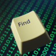 Find button - Stock Photo