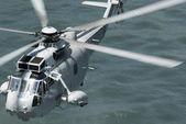 Navy rescue chopper — Stock Photo