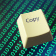 Computer copy key — Stock Photo
