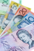 Australian bank notes — Stock Photo