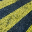 Yellow stripes — Stock Photo