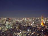 Tokyo from above — Stock Photo