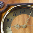 Antique looking clock face — Stock Photo