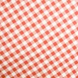 Tablecloth texture-checked fabric — Stock Photo #2001470