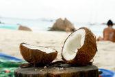 Seychelles. Island Praslin. Anse Lazio. — Stock Photo