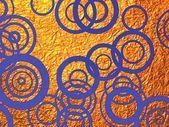 Violet circles — Stock Photo